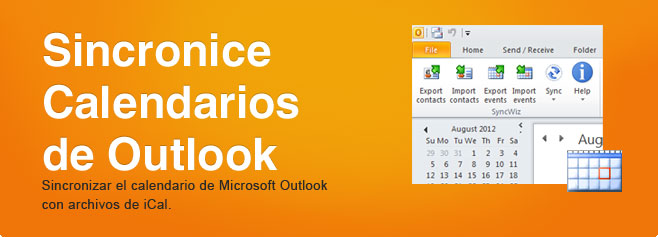 Sincronice  carpetas de Calendarios de Outlook. Sincronizar el calendario de Microsoft Outlook con archivos de iCal.